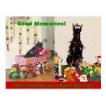 Felices Navidad 2011 Postal