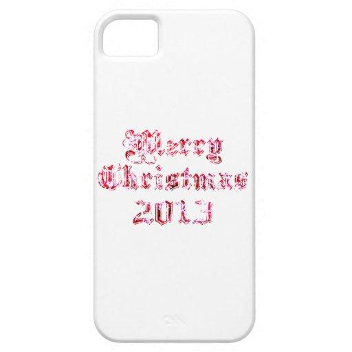 Felices Navidad 2013 iPhone 5 Case-Mate Coberturas
