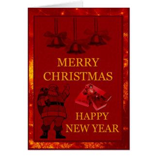 Felices Navidad 2 Tarjeta Pequeña