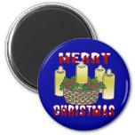 Felices Navidad 4 Imán Para Frigorifico
