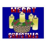 Felices Navidad 4 Postales