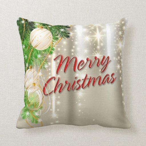 Felices Navidad 53 opciones de las almohadas