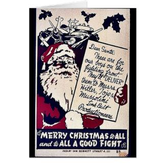 Felices Navidad a todos Tarjeta De Felicitación