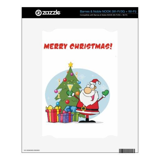 Felices Navidad a todos y a todos buenas noches Skins Para NOOK