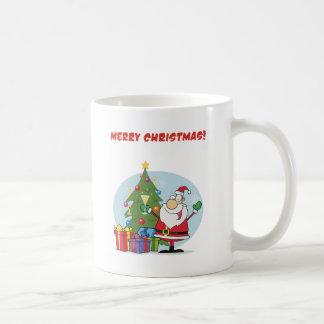 Felices Navidad a todos y a todos buenas noches Taza Clásica