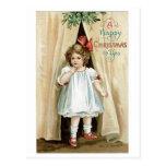 Felices Navidad a usted - Ellen Clapsaddle Tarjetas Postales