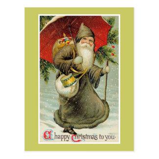 Felices Navidad a usted Postales