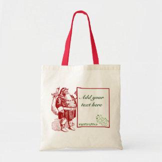 Felices Navidad adaptables Bolsas De Mano