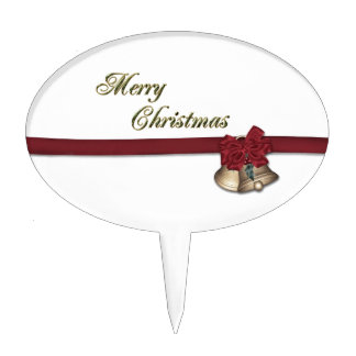 Felices Navidad Figuras De Tarta