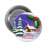Felices Navidad al aire libre Pins