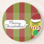 """Felices Navidad al """"búho """" Posavasos Diseño"""