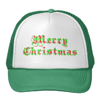 Felices Navidad alegres Gorras