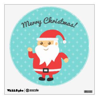 Felices Navidad alegres y de Papá Noel lindo