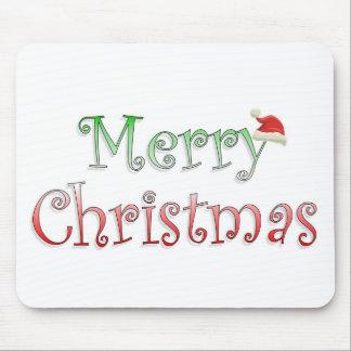 Felices Navidad Alfombrilla De Raton
