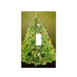 Felices Navidad, árbol 2 Tapas Para Interruptores