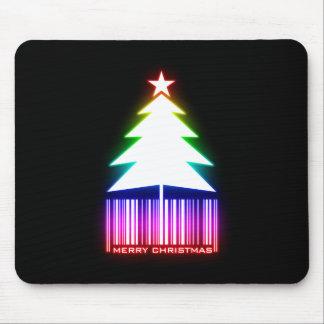Felices Navidad - árbol de navidad que brilla inte Tapetes De Raton