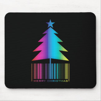 Felices Navidad - árbol de navidad que brilla inte Tapetes De Ratón