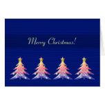 ¡Felices Navidad! - Árboles de navidad lindos - ta Felicitacion