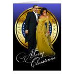 Felices Navidad Barack y Michelle Obama Felicitaciones