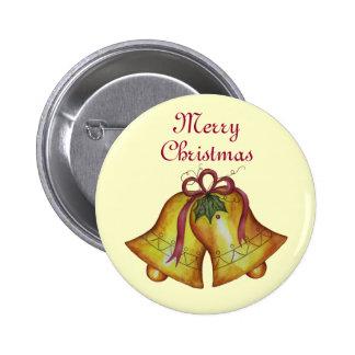 Felices Navidad Belces del botón del navidad Pins