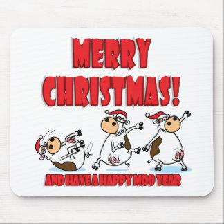 Felices Navidad Breakdancing Alfombrillas De Ratones