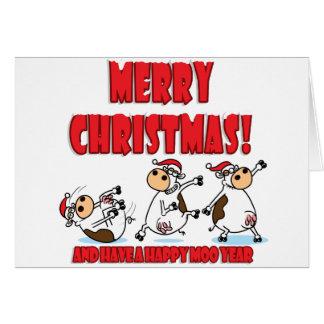 Felices Navidad Breakdancing Tarjeta De Felicitación