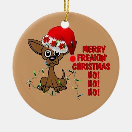 Felices Navidad Brother de Freakin Ornamento Para Reyes Magos