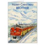 Felices Navidad Brother Tarjeton