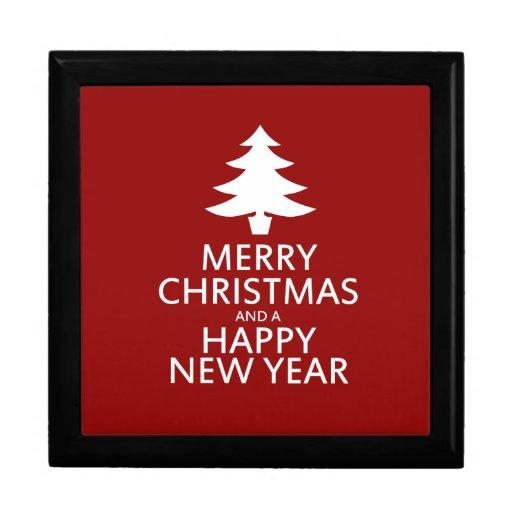 Felices Navidad Caja De Regalo