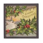 Felices Navidad Caja De Regalo De Calidad