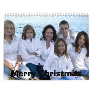 Felices Navidad Calendario