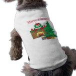 Felices Navidad Camisa De Mascota