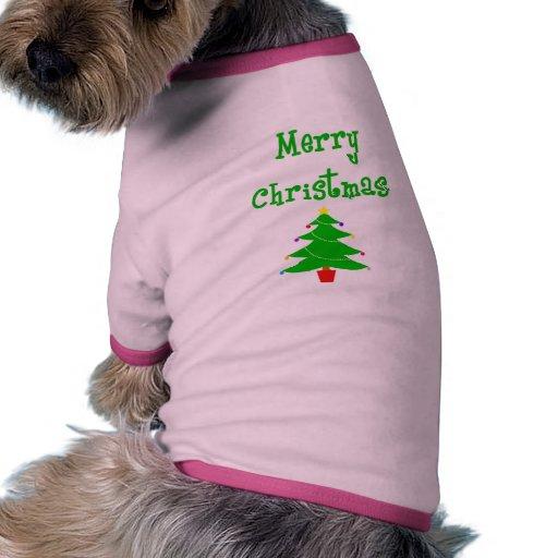 Felices Navidad Camisas De Mascota