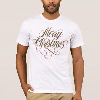 ¡Felices Navidad!  Camisetas festivas para el día
