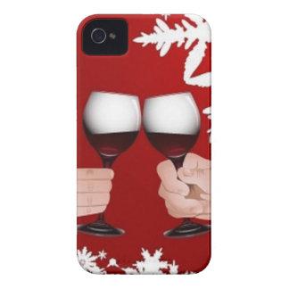 Felices Navidad Carcasa Para iPhone 4 De Case-Mate