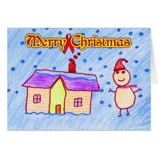 Felices Navidad (caridad del VIH/del SIDA) Tarjeta De Felicitación