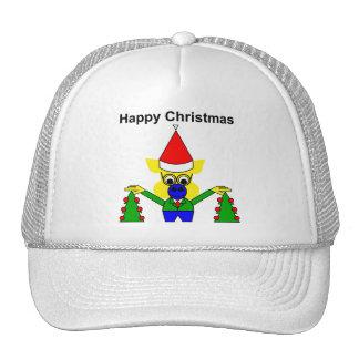 Felices Navidad - cerdo del navidad Gorras De Camionero