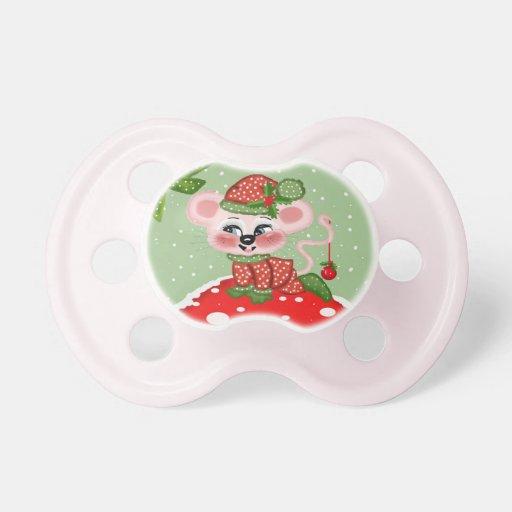 Felices Navidad Chupetes Para Bebés