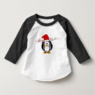 """""""Felices Navidad con el pingüino """" Playera"""