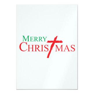 Felices Navidad con la cruz de los sellos del Comunicados Personales
