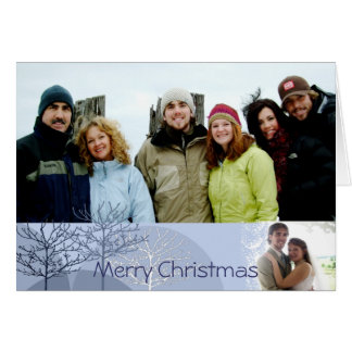 Felices Navidad con su letra del navidad dentro Tarjeta De Felicitación