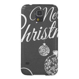 Felices Navidad de B&W Carcasa Galaxy S5