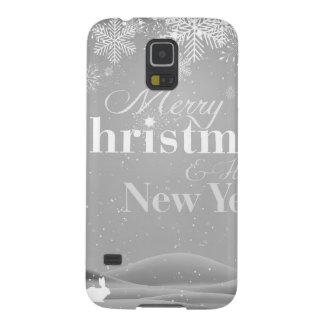 Felices Navidad de B&W y Feliz Año Nuevo Carcasa Galaxy S5