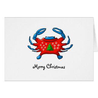 Felices Navidad de Baltimore Tarjeta De Felicitación