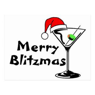 Felices Navidad de Blitzmas Postal