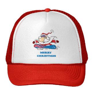 Felices Navidad de BoardChick Santa Gorros