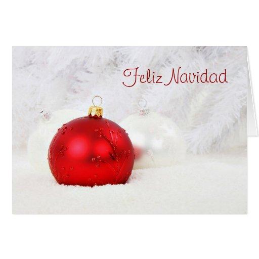 Felices Navidad de Feliz Navidad en chuchería Tarjeta De Felicitación