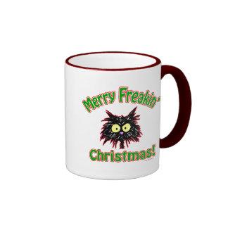 Felices Navidad de Freakin Taza