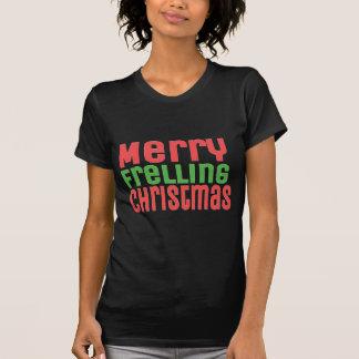¡Felices Navidad de Frelling! Playeras