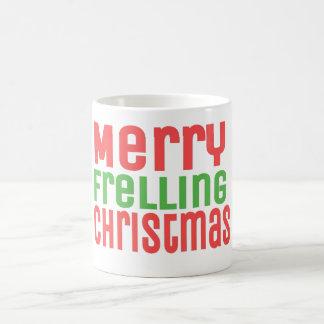 ¡Felices Navidad de Frelling! Tazas De Café